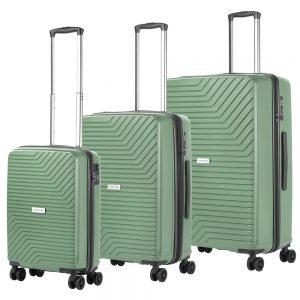 CarryOn Transport Trolleyset 3pcs olive