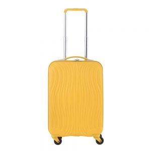CarryOn Wave Koffer 55 oker Harde Koffer