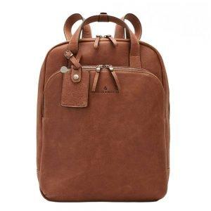 """Castelijn & Beerens Carisma Laptop Rugzak 15.6"""" + tablet cognac backpack"""
