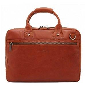 "Castelijn & Beerens Firenze Business Laptopbag 15.6"" licht bruin"