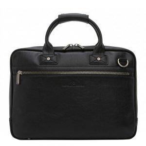 "Castelijn & Beerens Firenze Business Laptopbag 15.6"" zwart"