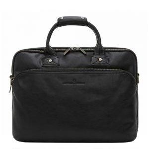 """Castelijn & Beerens Firenze Business Laptoptas 15.6"""" 3 vaks zwart"""