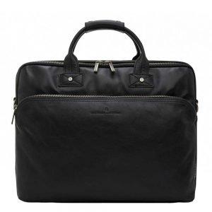 """Castelijn & Beerens Firenze Business Laptoptas 17"""" zwart"""
