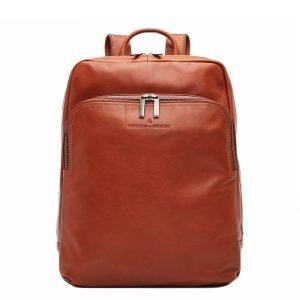 """Castelijn & Beerens Firenze Business Rugzak 15.6"""" + Tablet lichtbruin backpack"""