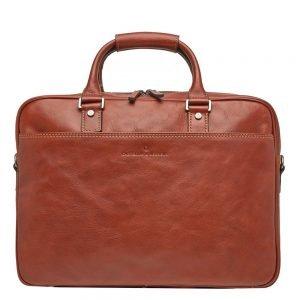 """Castelijn & Beerens Verona Business Laptoptas 15.6"""" licht bruin"""