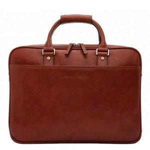 """Castelijn & Beerens Verona Business Laptoptas 15.6"""" licht bruin2"""