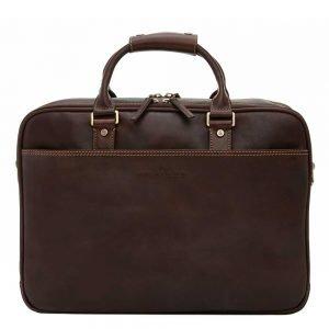 """Castelijn & Beerens Verona Business Laptoptas 15.6"""" mocca"""