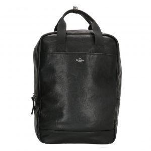 Charm London Farringdon Laptop Rugzak zwart backpack