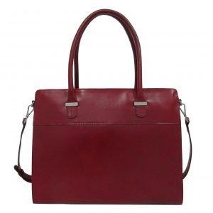 """Claudio Ferrici Classico Businessbag 15"""" red"""