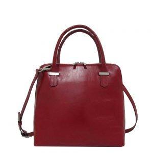 Claudio Ferrici Classico Hand Bag red Damestas