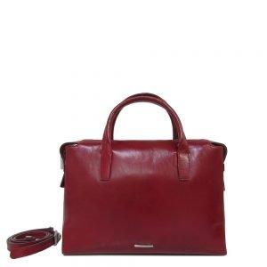 Claudio Ferrici Classico Handbag red