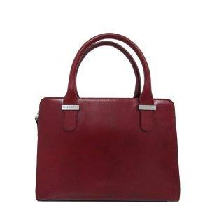 Claudio Ferrici Classico Handbag red2 Damestas