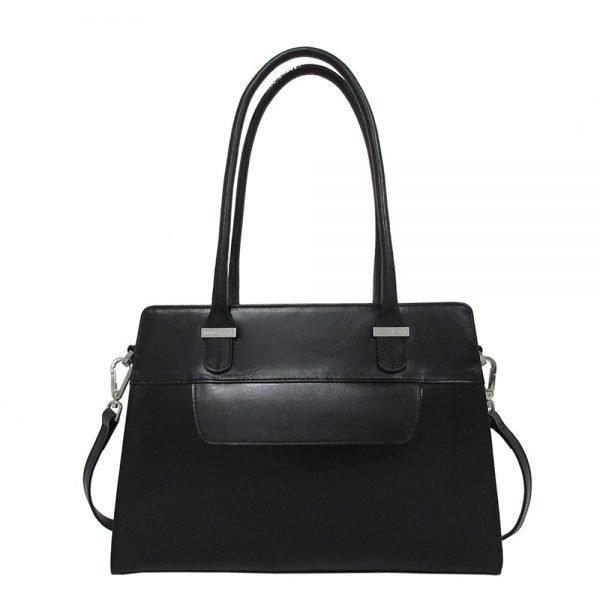 Claudio Ferrici Classico Shoulder Bag black3 Damestas