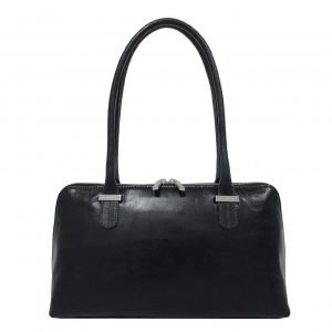 Claudio Ferrici Classico Shoulder bag navy VI Damestas
