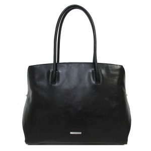 Claudio Ferrici Classico Workbag black Damestas