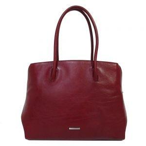 Claudio Ferrici Classico Workbag red Damestas