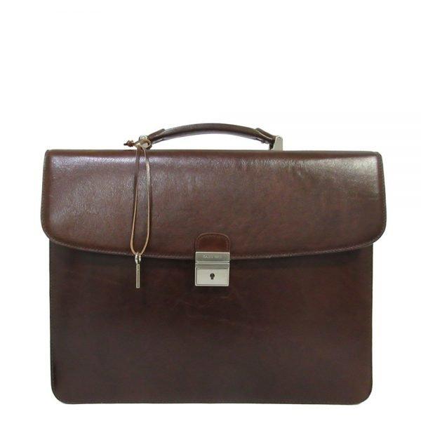 "Claudio Ferrici Legacy Briefcase 13.3"" brown"