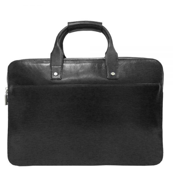"Claudio Ferrici Legacy Briefcase 15.6"" black"