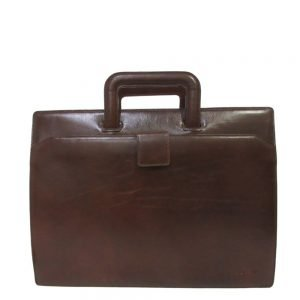 "Claudio Ferrici Legacy Briefcase 15.6"" brown"