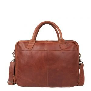 "Cowboysbag Fairbanks Laptoptas 15"" cognac"