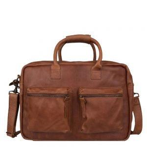 "Cowboysbag The College Bag Laptoptas 15.6"" cognac"