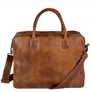 "DSTRCT Fletcher Street Workingbag 15.6"" cognac"
