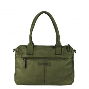 DSTRCT Harrington Road Handbag khaki Damestas