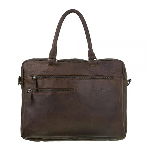 "DSTRCT Raider Road Ohio Laptopbag 15.6"" cognac"