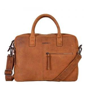 "DSTRCT Wall Street Workingbag 14"" cognac"