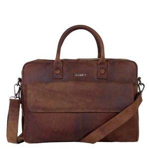 "DSTRCT Wall Street Workingbag 16"" brown"