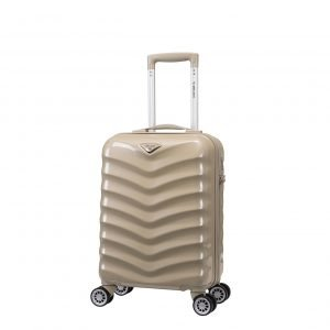 Decent Exclusivo-One Trolley 55 champagne Harde Koffer