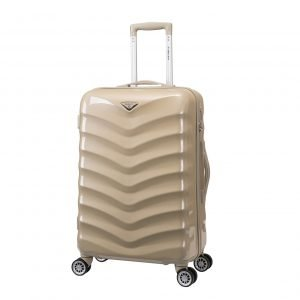 Decent Exclusivo-One Trolley 67 champagne Harde Koffer