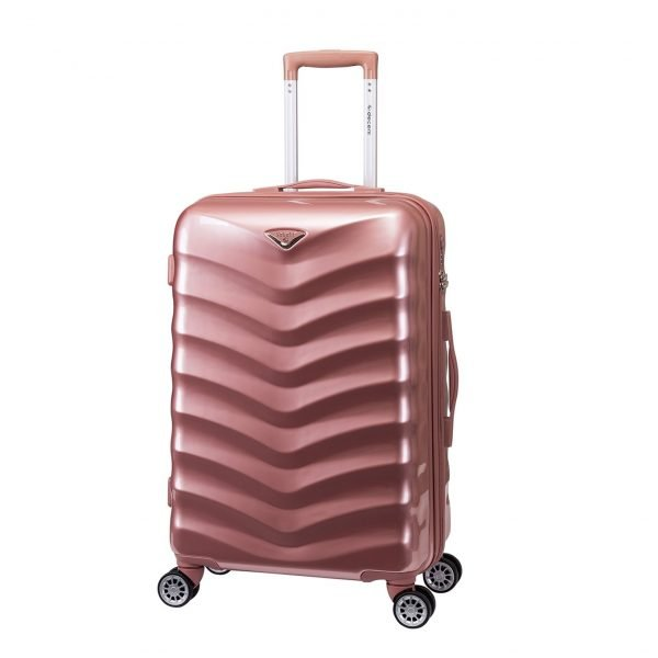 Decent Exclusivo-One Trolley 67 rose Harde Koffer