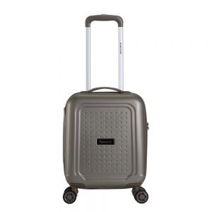 Decent Maxi Air Underseater Trolley 42 champagne Harde Koffer