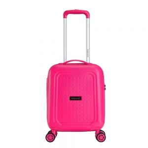 Decent Maxi Air Underseater Trolley 42 pink Harde Koffer
