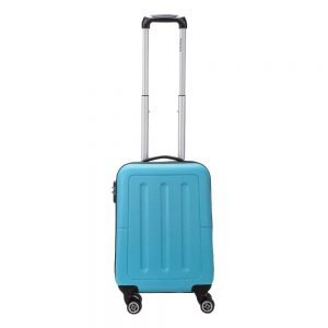 Decent Neon-Fix Trolley 55 blauw Harde Koffer
