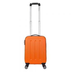 Decent Neon-Fix Trolley 55 oranje Harde Koffer