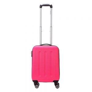 Decent Neon-Fix Trolley 55 pink Harde Koffer