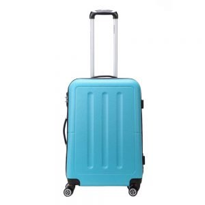 Decent Neon-Fix Trolley 66 blauw Harde Koffer
