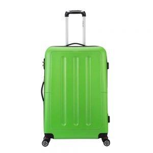 Decent Neon-Fix Trolley 76 appelgroen Harde Koffer