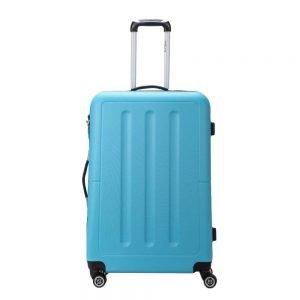 Decent Neon-Fix Trolley 76 blauw Harde Koffer