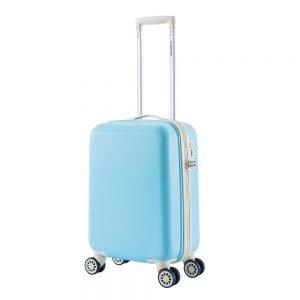 Decent Star-Maxx Trolley 55 pastel blue Harde Koffer