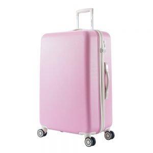 Decent Star-Maxx Trolley 76 pastel pink Harde Koffer