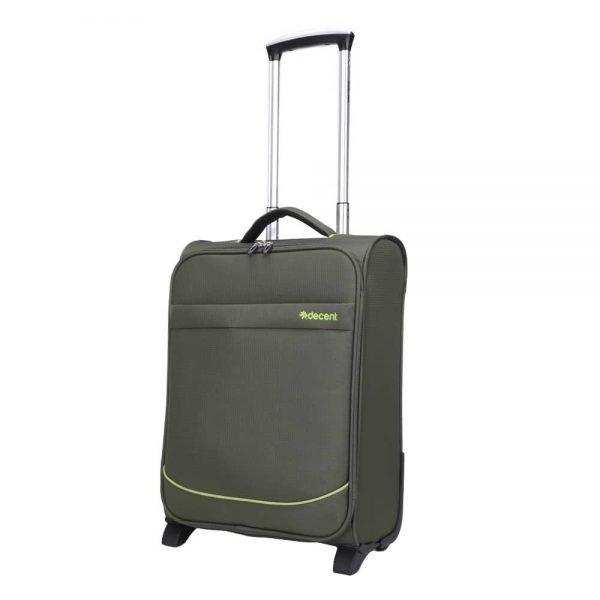 Decent Super-Light Trolley 50 olive green Zachte koffer