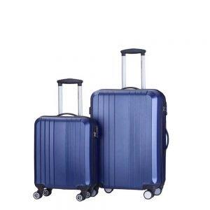 Decent Tobi Line 2-delige Kofferset d.blauw