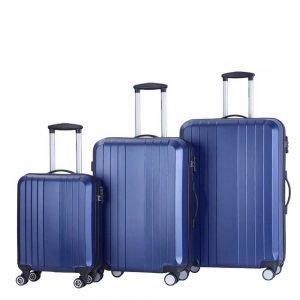 Decent Tobi Line 3-delige Kofferset d.blauw
