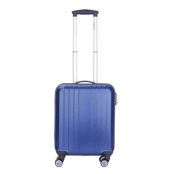 Decent Tobi Line Trolley 55 d.blauw Harde Koffer