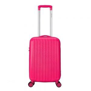 Decent Tranporto One Trolley 55 pink Harde Koffer