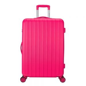 Decent Tranporto One Trolley 76 pink Harde Koffer