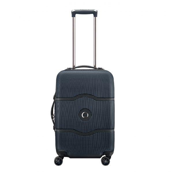 Delsey Chatelet Air 4 Wheel Trolley 55 black Harde Koffer